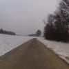 Radweg bei Scherz