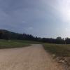 Feldweg zur Sennhütte hinauf