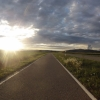 Sonnenuntergang im Birrfeld