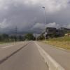 Es wird zu regnen anfangen