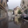 Spiegelungen im Regen
