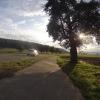 Abendsonne über dem Aaretal