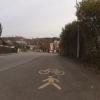 Rad- und Fussgängerweg im Quartier