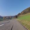 Vom Rotberg hinunter nach Hottwil