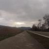 Das Rheintal hinunter (Leibstadt)