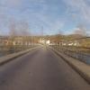 Brücke über einen Aarekanal bei Villnachern