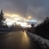Stetten im winterlichen Abendlicht