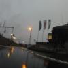 Nicht mehr weit bis nach Hause nach einer Fahrt im Dauerregen