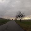 Radroute 34 (Alter Bernerweg) bei Hunzenschwil