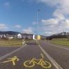 Rad- und Fussweg bei Untersiggenthal