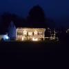 Weihnächtlicher Bauernhof in Veltheim