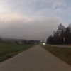 Nebeldecke über dem Surbtal
