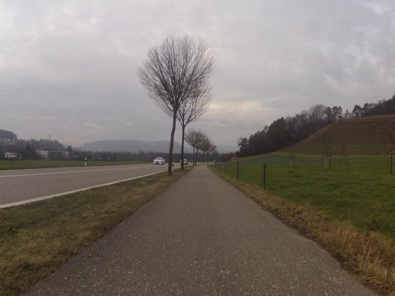 Radweg nach Siggenthal Station
