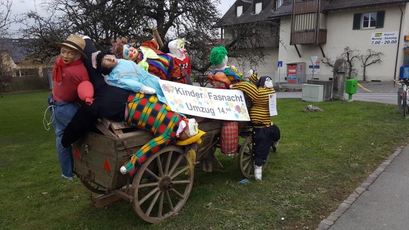 Fasnachtsstimmung in Mägenwil
