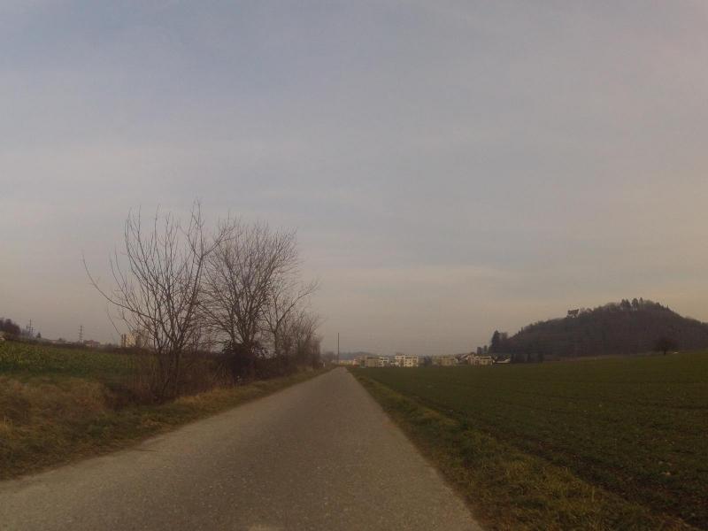 Unterwegs auf der Radroute 34 (alter Bernerweg)