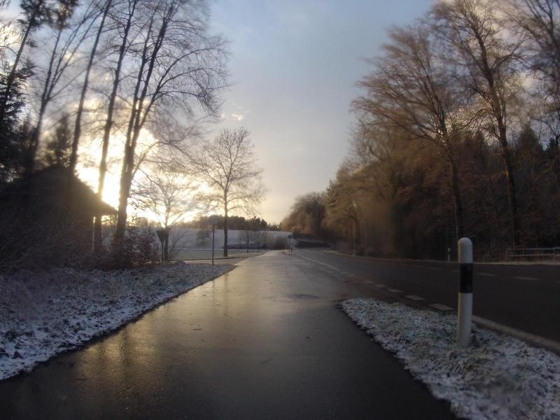 Winterlandschaft bei Birrhard