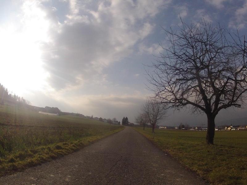 Der Nebel wird löchrig, Hunzenschwil