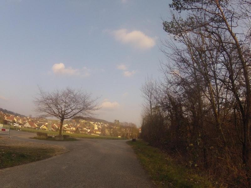 Auenstein, der Aare entlang
