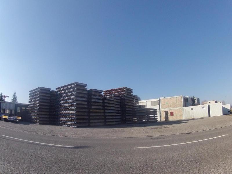 Baustelle in Lenzburg