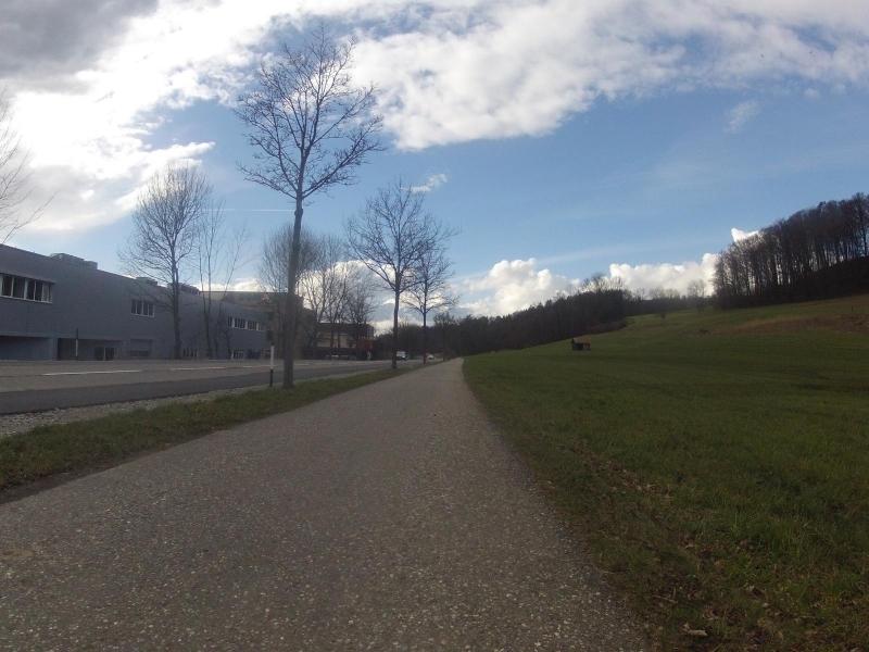 Unterwegs im Surbtal zwischen Lengnau und Endingen