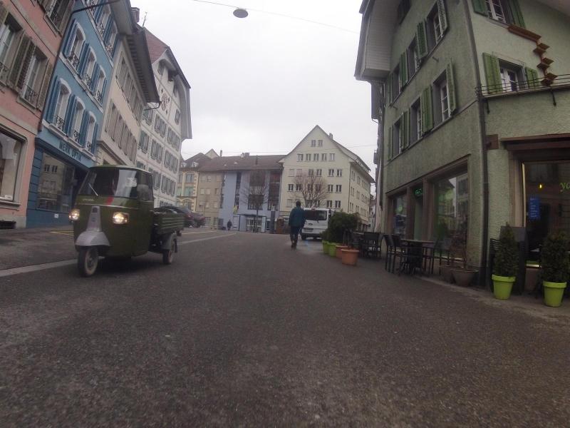 Dreirad in Lenzburg
