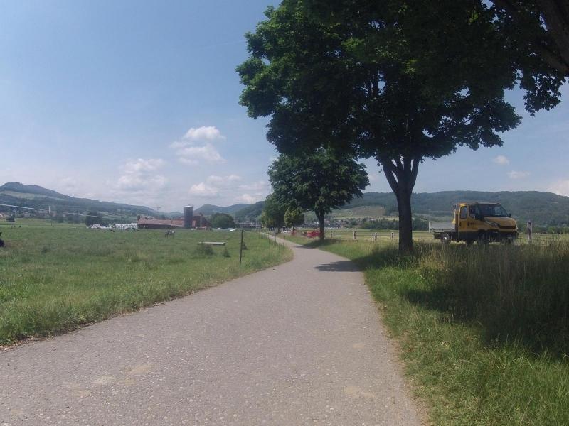 Schinznacherfeld in Richtung Staffelegg