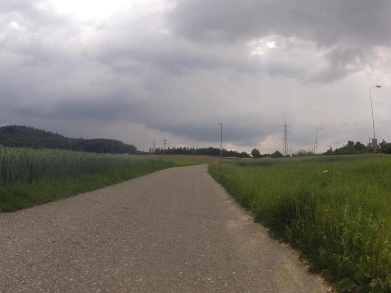 Radweg nach Lenzburg