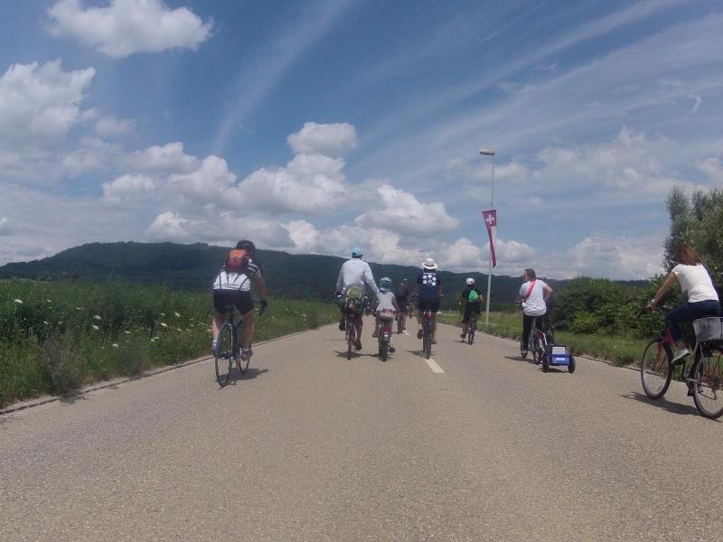 Slow Up zwischen Stein und Laufenburg