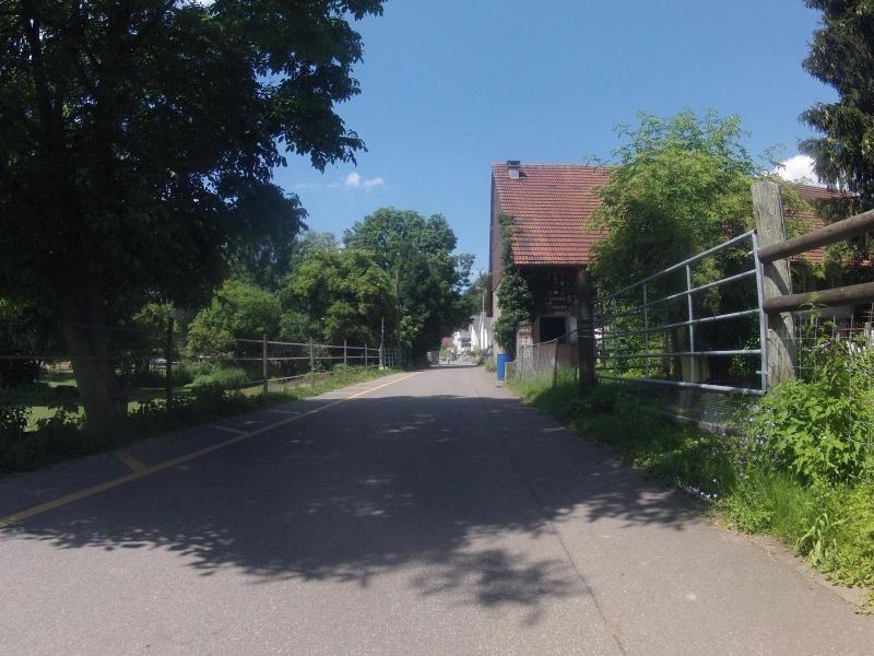 Quartierstrasse in Othmarsingen