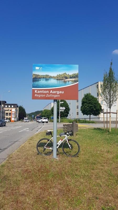 Kantonsgrenze bei Murgenthal