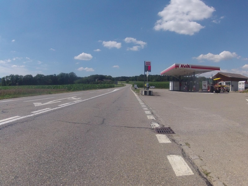 Tankstelle auf dem Bözberg