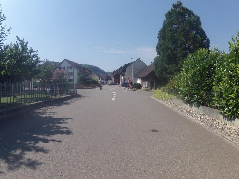 Quartierstrasse in Würenlingen