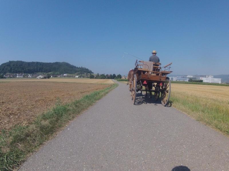 Unterwegs mit der Kutsche