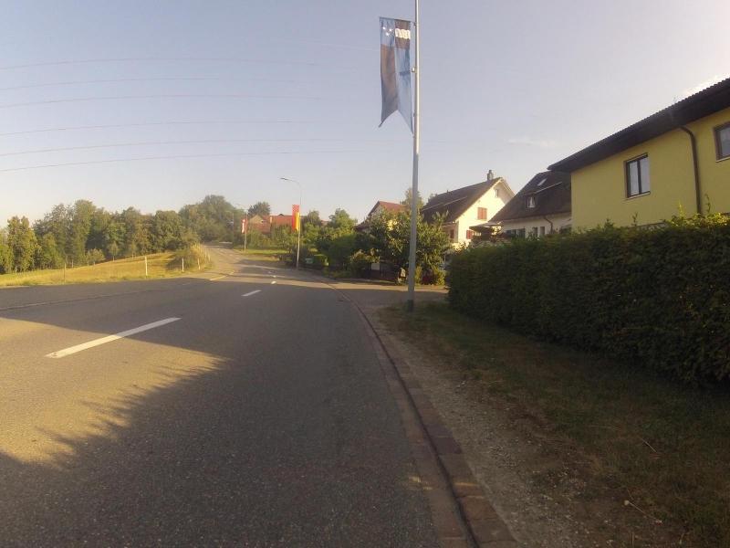 Fahnenschmuck Aargau - Böttstein - Schweiz