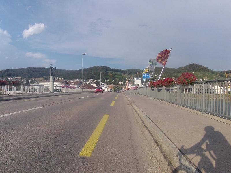 Aarebrücke nach Döttingen