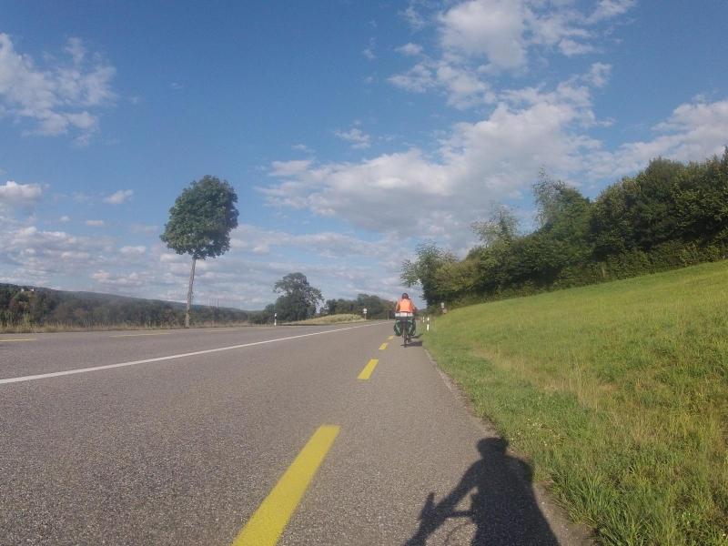 Unterwegs auf der Radroute 2 (Rhein-Route)