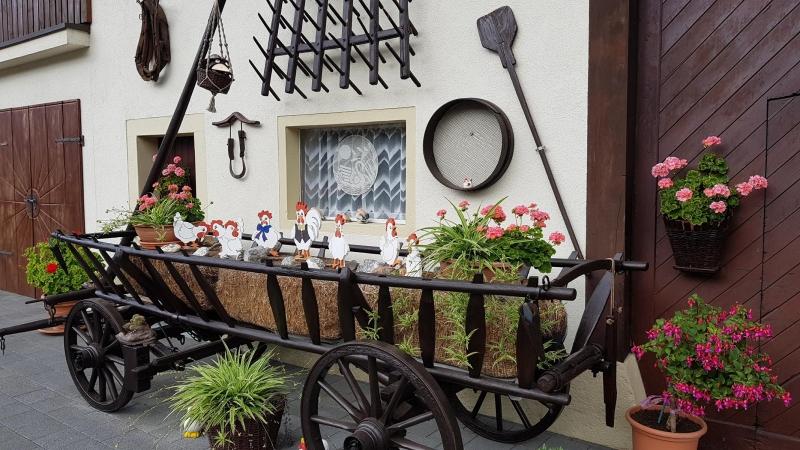"""Hühnerwagen"" in Tegerfelden"