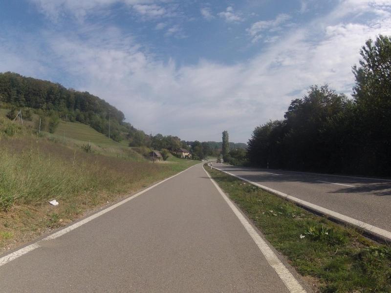 Radweg nach Umiken