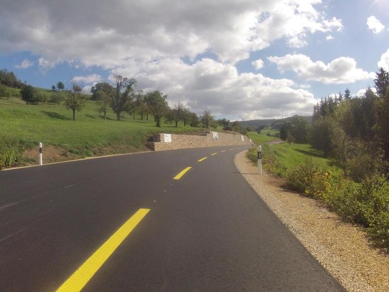Unterwegs zum Rotberg hinauf