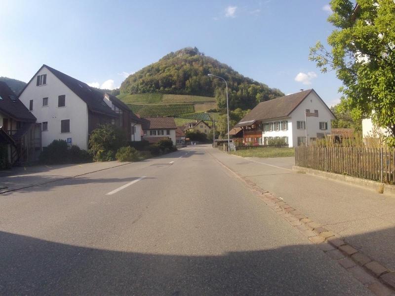 Dorfeinfahrt Villigen