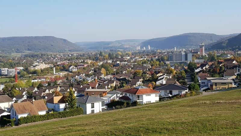 Oberhalb Bad Zurzach