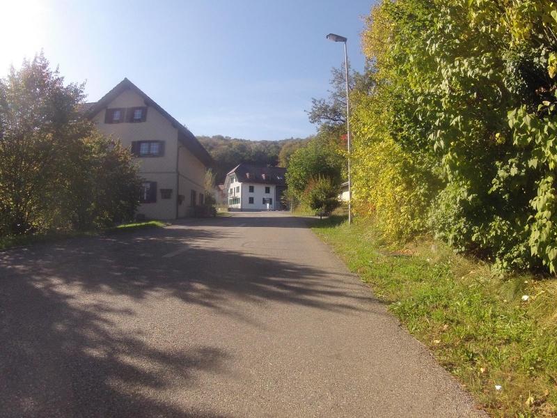 Dorfstrasse in Wallbach