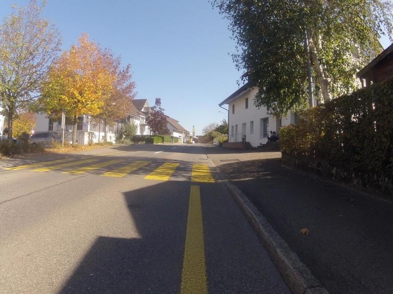 Dorfstrasse in Mülligen