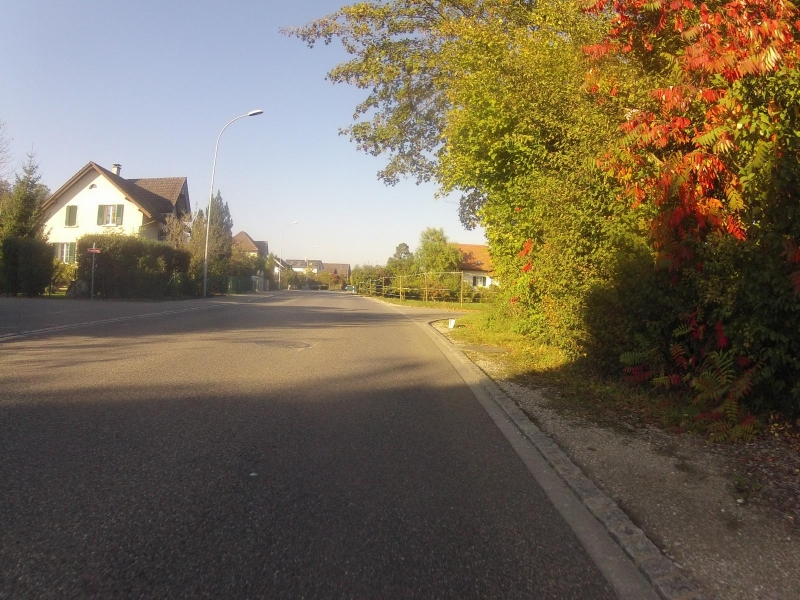 Dorfstrasse in Au