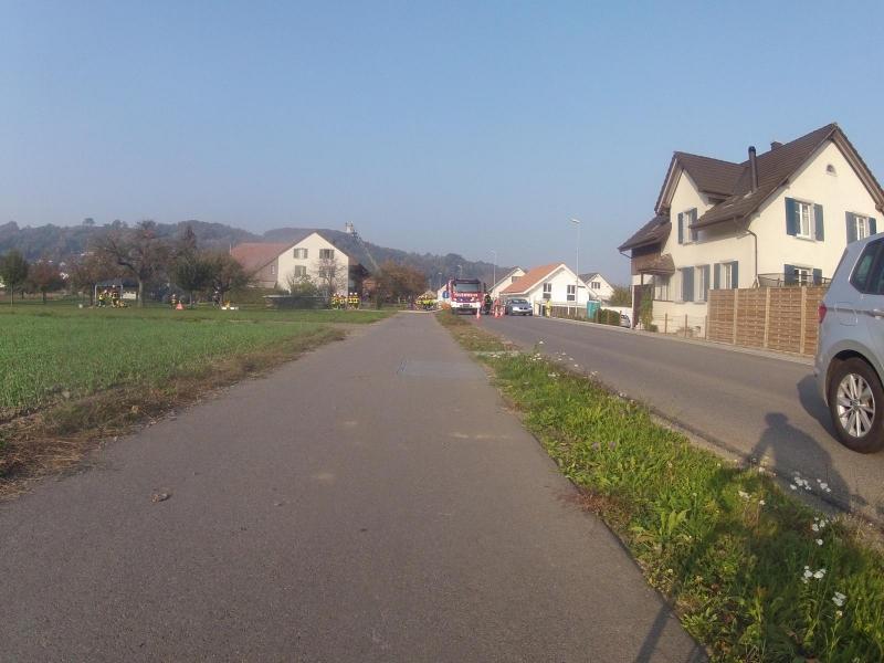 Dorfeingang Villnachern