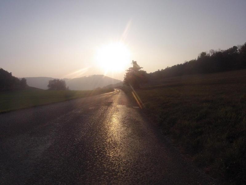 Im Abendlicht von der Bürensteig nach Mönthal