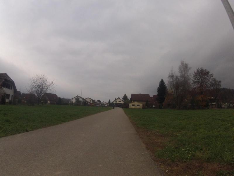 Radweg von Mellingen nach Tägerig