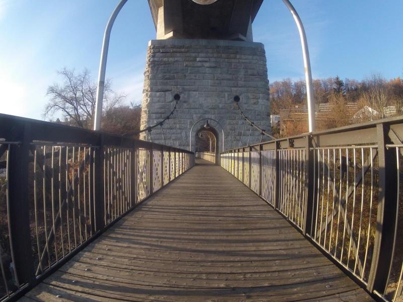 Fussgänberbrücke nach Umiken