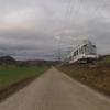 Entlang der Bahnlinie im Wynatal