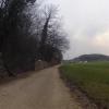 Entlang dem Bruggerberg auf der Nordseite